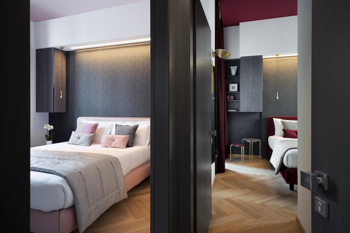 Camere Matrimoniali Design Hotel Milano